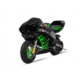 PS77 Racing 49cc Pocket Bike Enfant Thermique