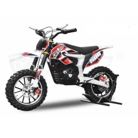 Dirt Bike Cheetah Deluxe électrique 500W plomb