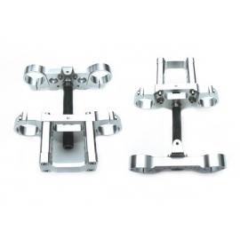 Tés + Pontets + Axe - 48/48mm - Silver
