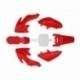Kit plastique - Type CRF50 - Rouge